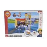 товар для детей Simba Пожарный Сэм (фигурка+морская станция, свет, звук)
