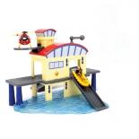 товар для детей Dickie Пожарный Сэм (Морской гараж+лодка)
