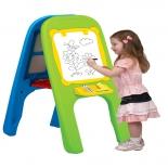 товар для детей Доска магнитная Edu-play (для рисования) зелёная/синяя/жёлтая