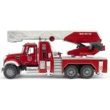 товар для детей Bruder MACK пожарная машина с лестницей