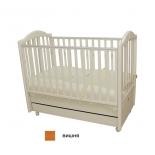товар для детей Кровать Mibb Tender Ciliegio Swing вишня (с продольным маятником)