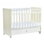детская кроватка Фея 700 белая