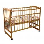 детская кроватка Фея 204 медовая