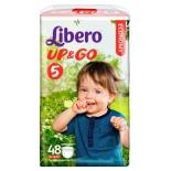 подгузник Libero Up&Go 5 (10-14 кг) 48 шт.