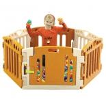Манеж Edu-play Play Room бежевые тона