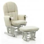 кресло-качалка складное Tutti Bambini Daisy GC35 Белое / крем
