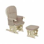 кресло-качалка складное Tutti Bambini GC35 Vanilla /крем