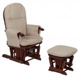 кресло-качалка складная Tutti Bambini GC35 Грецкий орех / крем