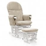кресло-качалка складное Tutti Bambini GC35 Белое / крем