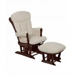 кресло-качалка складная Tutti Bambini ROSE GC75 Грецкий орех / крем