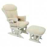 кресло-качалка складное Tutti Bambini ROSE GC75 Белое / крем