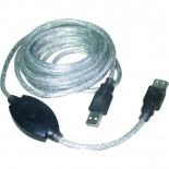 кабель (шнур) VCom VUS7049 (USB2.0-repeater)