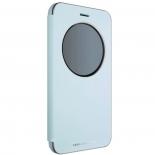 чехол для смартфона Asus View Flip Cover для Asus ZenFone ZE552KL (90AC0160-BCV012), голубой