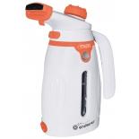 Пароочиститель-отпариватель Endever Odyssey Q-418, белый/оранжевый