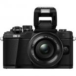 цифровой фотоаппарат Olympus OM-D E-M10 Mark II Kit , черный