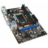 материнская плата MSI H81M-P33 Soc-1150 H81 DDRIII mATX SATA3  LAN-Gbt USB3.0 VGA/DVI