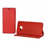 чехол для смартфона Book Case для Xiaomi Redmi Note 3, RedMi Note 3 Pro, RedMi Note 2 Pro (с визитницей), красный