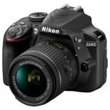 цифровой фотоаппарат Nikon D3400 KIT (AF-P 18-55mm VR), черный