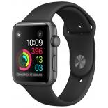 Умные часы Apple Watch Series 1 42 mm, серо-черные
