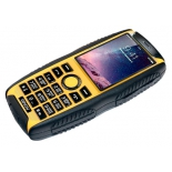 сотовый телефон Ginzzu R41D, черный/желтый