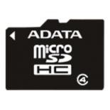 карта памяти Adata microSDHC Memory Card 4Gb Class4