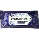 чистящая принадлежность для ноутбука Ecomir 24222 салфетки для мониторов