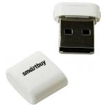 usb-флешка SmartBuy Lara series USB2.0 8Gb (RTL), белая