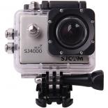 видеокамера SJCAM SJ4000 WiFi, серебристая