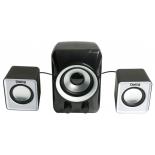 компьютерная акустика Dialog AC-202UP черно-белая