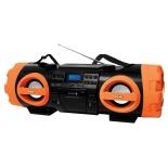 Магнитола BBK BX999BT, черно-оранжевая, купить за 5 790руб.