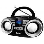 магнитола  BBK BX160BT, черная/металлик