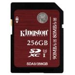 карта памяти Kingston SDA3/256GB (SDXC, UHS-I High Speed Class 3)