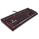 клавиатура Corsair Straffe Cherry MX Red Black USB (механическая)