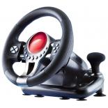 игровое устройство SVEN Turbo (Vibration Feedback, рулевое колесо, педали, рычаг КПП., 8поз..перекл., 12кн., USB)