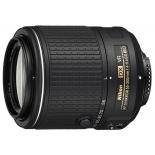 объектив для фото Nikon 55-200mm f/4-5.6G AF-S DX ED VR II Nikkor (телеобъектив)