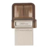 usb-флешка Flash drive 32 Gb Kingston DTDUO, совместим с Android-смартфонами