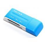 устройство для чтения карт памяти RE2-102BL USB2.0 синий