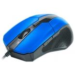 мышка CBR CM 301 Blue USB