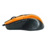 мышка CBR CM 301 Orange USB