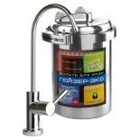 фильтр для воды Гейзер Эко, серебристый