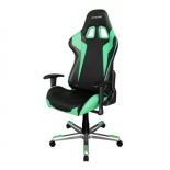 компьютерное кресло DXRacer Formula OH/FE00/NE, черное / зелёное