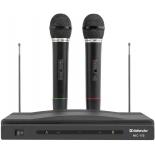 микрофон мультимедийный Defender SET MIC-155, черный