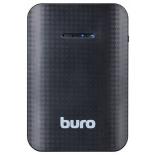аккумулятор универсальный Мобильный аккумулятор Buro RC-7500 7500 mAh, черный