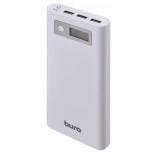 аксессуар для телефона Мобильный аккумулятор Buro RA-16000-3U-LCD (16000 mAh), белый