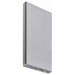 аксессуар для телефона Мобильный аккумулятор Buro RA-12000-AL 12000 мАч, серебристый