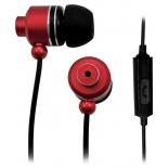 гарнитура для телефона BBK EP-1530S красно-черная