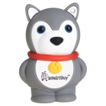 usb-флешка SmartBuy Wild Series Hasky Dog USB2.0 8Gb (RTL)