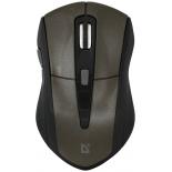 мышь Defender Accura MM-965, коричневая