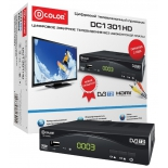 tv-тюнер D-Color DC1301HD, черный