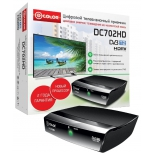tv-тюнер D-Color DC702HD, черный